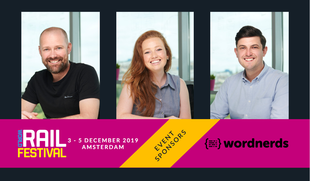 Wordnerds sponsoring World Rail Festival
